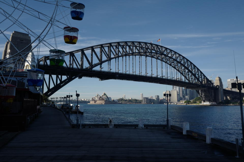 Sydney's Covid-19 outbreak grew by 38 on Thursday. Source: Getty Images