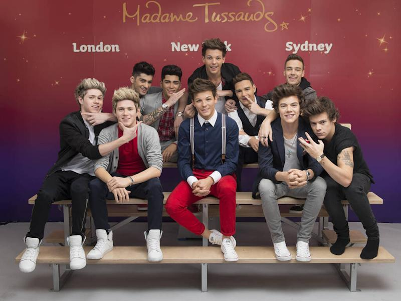 One Direction waxworks removed from London's Madame Tussauds after seven years