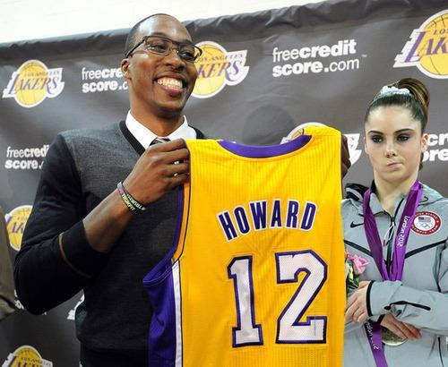 Dwight Howard a Laker? McKayla is NOT impressed.