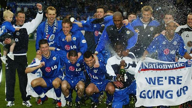 <p>Martin O'Neill took over a freshly relegated Leicester in the summer of 1995 and steered the Foxes back to the Premier League via the playoffs at the end of his first season in charge.</p> <br><p>Leicester were ultimately relegated back to Division One in 2002, the club's final season at Filbert Street, but christened their new home with immediate promotion. They lasted only a single season back in the top flight under Micky Adams and didn't return again until 2014.</p>