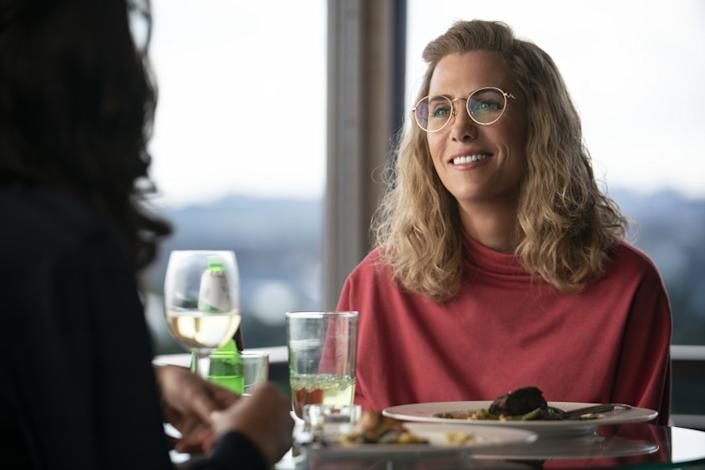 """(L-R)- Gal Gadot and Kristen Wiig in a scene from """"Wonder Woman 1984."""" Credit: Clay Enos/ DC Comics"""