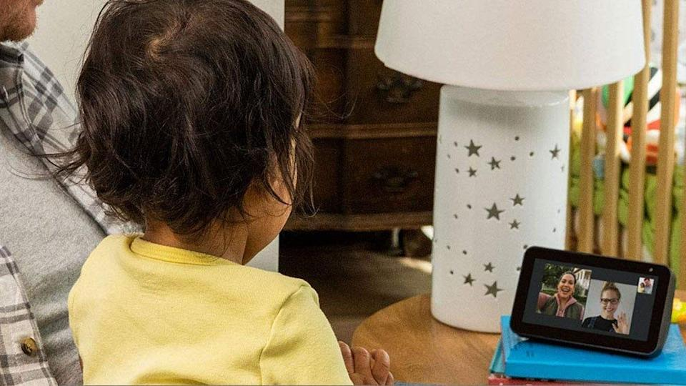 The Show 5 can make video calls to loved ones, as well as serve as a hub for all your Alexa-connected devices.
