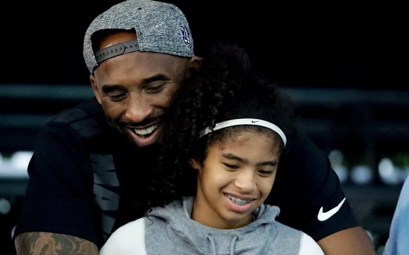 Kobe Bryant and his daughter Gianna  - AP