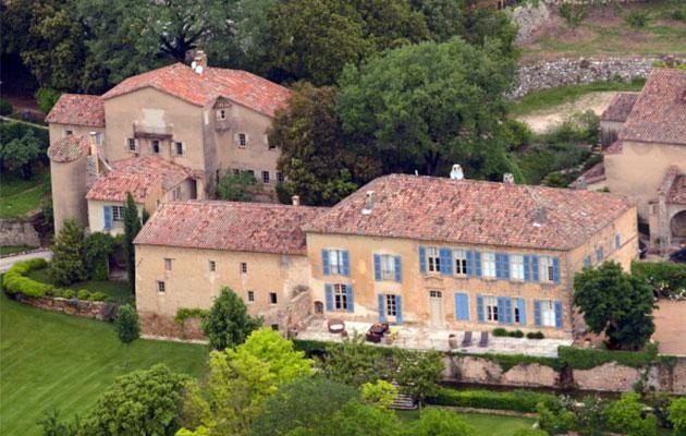 Brangelina's Château Miraval in Le Val, France, is worth over US$80 million. Source: Getty Images