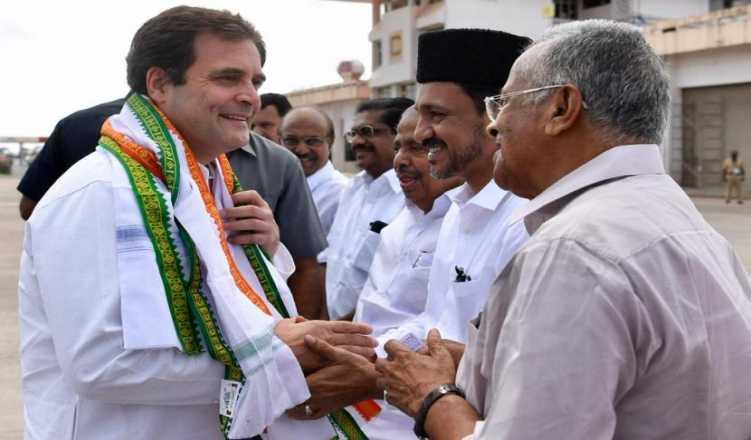 Rahul Gandhi arrives in Wayanad LS constituency on 3-day thanksgiving