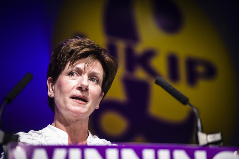 <i>Diane James stood down as Ukip leader after 18 days, claiming the NEC frustrated her attempts at party reform.</i> (PA Archive/PA Images)