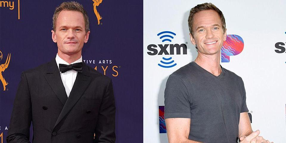 """<p>Neil Patrick Harris has called his look on the red carpet a """"scowl"""" and apparently it's something the actor has been <a href=""""https://www.youtube.com/watch?v=qOA-XXMVvnE"""" rel=""""nofollow noopener"""" target=""""_blank"""" data-ylk=""""slk:trying to fix"""" class=""""link rapid-noclick-resp"""">trying to fix</a>. </p>"""