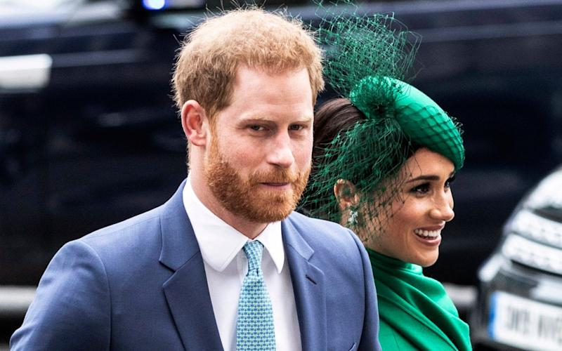 The Duke and Duchess of Sussex dropped their 'Megxit' bombshell seven months ago - Richard Pohle