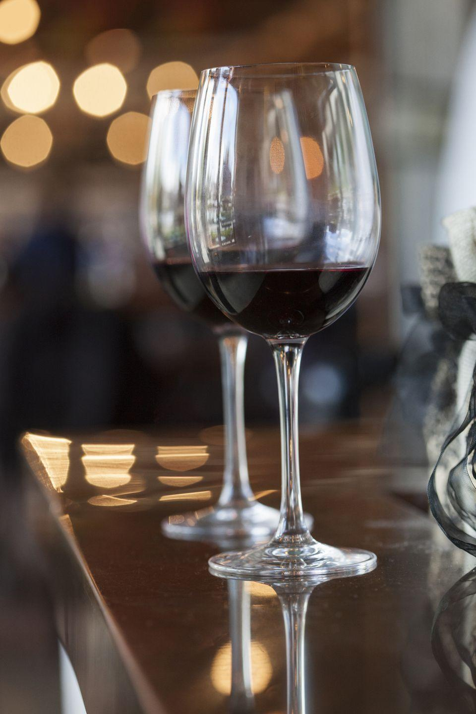 """<p>Cheers to Kentucky! In 1799, the <a href=""""http://mentalfloss.com/article/71751/25-fine-facts-about-kentucky"""" rel=""""nofollow noopener"""" target=""""_blank"""" data-ylk=""""slk:first commercial winery"""" class=""""link rapid-noclick-resp"""">first commercial winery</a> in the United States was established near Lexington. And yes, you can still enjoy wine produced by the winery (now named """"First Vineyard."""") It's even maintained by a descendant of the original shareholders of the winery.  </p>"""
