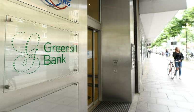 usbFILE PHOTO: The Greensill Bank is pictured in downtown Bremen