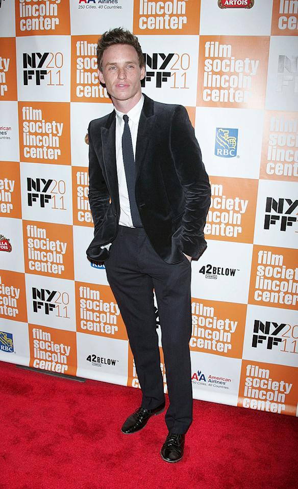 "<a href=""http://movies.yahoo.com/movie/contributor/1809675503"">Eddie Redmayne</a> at the New York Film Festival premiere of <a href=""http://movies.yahoo.com/movie/1810178830/info"">My Week with Marilyn</a> on October 9, 2011."