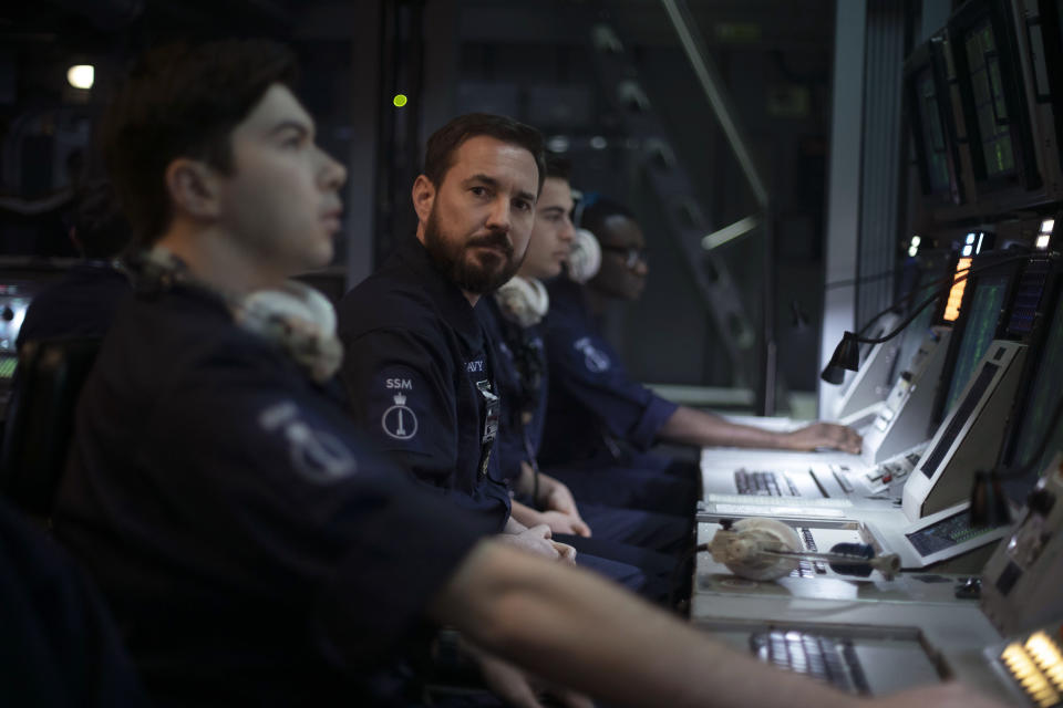 WARNING: Embargoed for publication until 00:00:01 on 24/08/2021 - Programme Name: Vigil - TX: n/a - Episode: n/a (No. 1) - Picture Shows:  Craig Burke (MARTIN COMPSTON) - (C) World Productions - Photographer: Mark Mainz