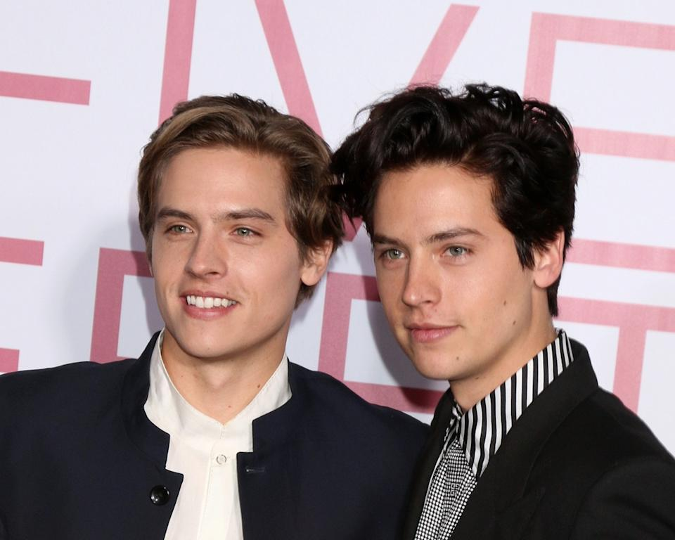 Dylan and Cole Sprouse 2019