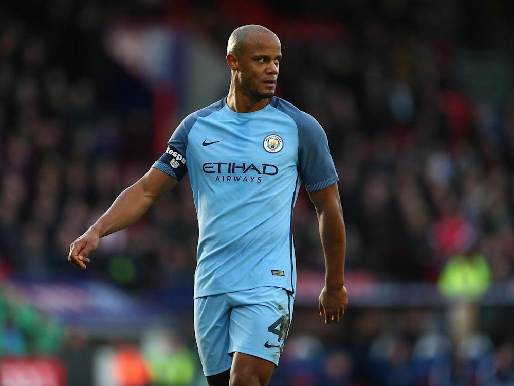 Guardiola said Kompany still has a future at the club