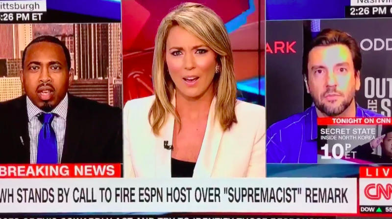 Fox Sports Host Desperate For Controversy Goes On CNN, Praises 'Boobs'