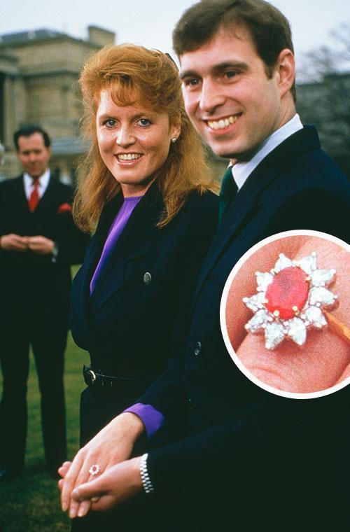 <p>But you may have noticed that the 27-year-old's pink padparadscha sapphire and diamond engagement ring looks very similar to the one her dad Prince Andrew, gave to her mum Sarah Ferguson.</p>