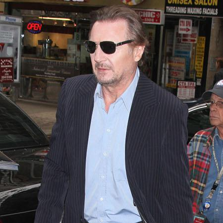 Liam Neeson sons 'encouraging proposal'