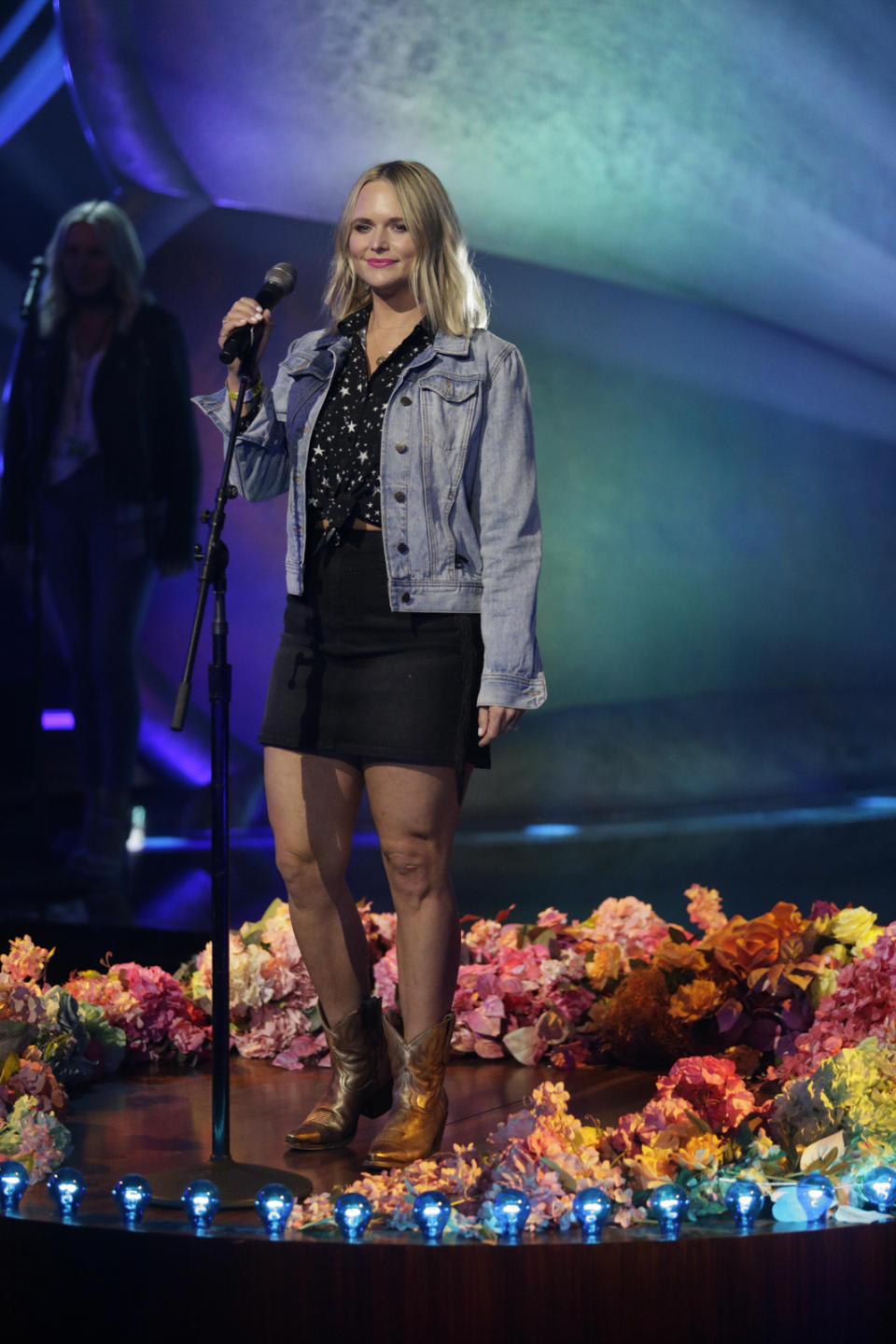 LOS ANGELES - MARCH 9: Miranda Lambert rehearsing for THE 63rd ANNUAL GRAMMY® AWARDS, broadcast live from the STAPLES Center in Los Angeles, Sunday, March 14, 2021 (8:00-11:30 PM, live ET/5:00-8:30 PM, live PT) on the CBS Television Network and Paramount+. (Photo by Francis Specker/CBS via Getty Images)