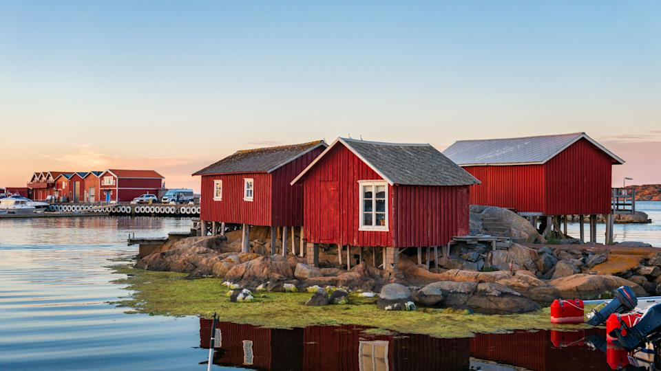 Idyllic Swedish west coast.