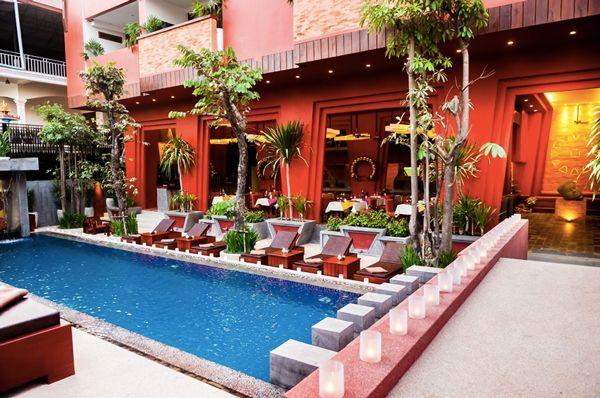 """<p><strong>Where To Stay:</strong> A little goes a long way in Siem Reap. Check out <a href=""""http://www.goldentempleresidence.com/home"""" rel=""""nofollow noopener"""" target=""""_blank"""" data-ylk=""""slk:Golden Temple Residence"""" class=""""link rapid-noclick-resp"""">Golden Temple Residence</a>, which you can book for as little as £80 per night. It's walking distance from the Angkor Night Market, Pub Street, and Psar Chaa Market, and a good homebase for your visit to Angkor Wat. The picturesque swimming pool alone should convince you.</p><p><strong>Insider Tip:</strong> Take a break from the temples and check out Siem Reap restaurant <a href=""""http://www.tree-alliance.org/our-restaurants/marum.asp?mm=or&sm=ma"""" rel=""""nofollow noopener"""" target=""""_blank"""" data-ylk=""""slk:Marum"""" class=""""link rapid-noclick-resp"""">Marum</a>, which is part of an alliance called TREE that trains local at-risk and homeless youth to be chefs. It serves affordable, local Cambodian cuisine, and you'll be supporting a good cause.</p><span class=""""copyright"""">Photo: Courtesy of Golden Temple Residence.</span>"""