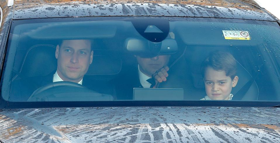 Prince William, Duke of Cambridge and Prince George. (Photo by Max Mumby/Indigo/Getty Images)