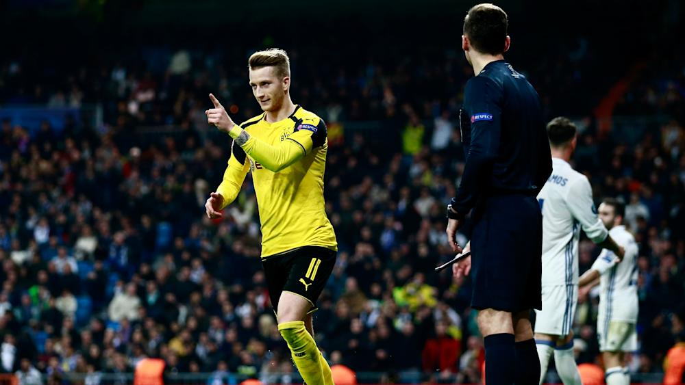 Marco Reus Dortmund Real Madrid Champions League 071216