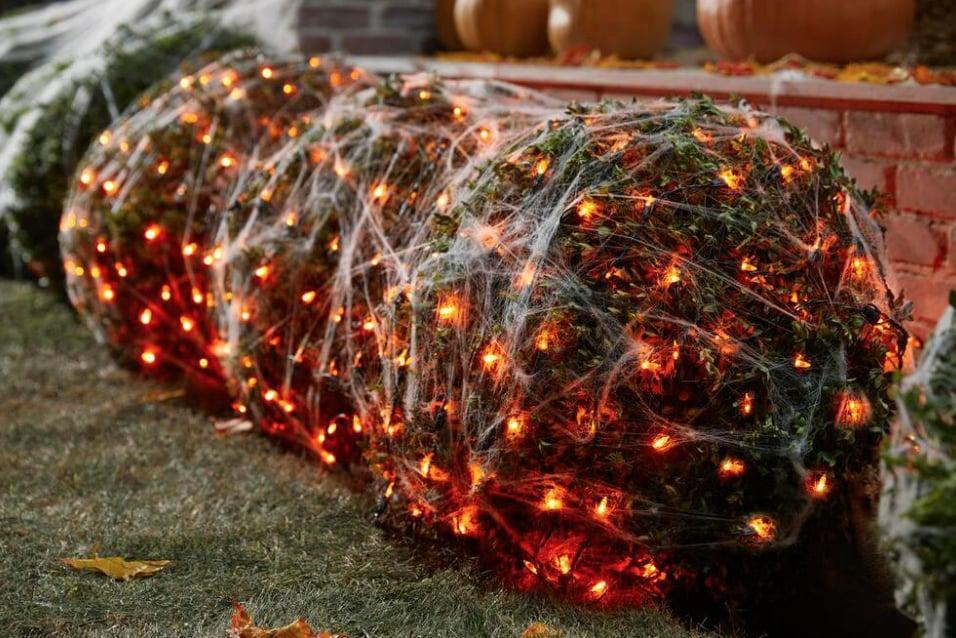 <p>Give your home an orange-hued glow with these <span>Orange Mini LED Net Lights</span> ($20), which can be installed either indoors or outdoors.</p>