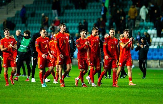 Wales are in a battle for second - but their play-off place is already all-but guaranteed