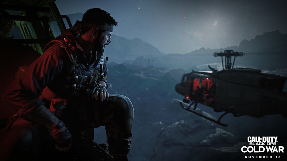 """A screen shot from """"Call of Duty: Black Ops Cold War,"""" out November 13th for PlayStation 4, Xbox One, and PCs."""
