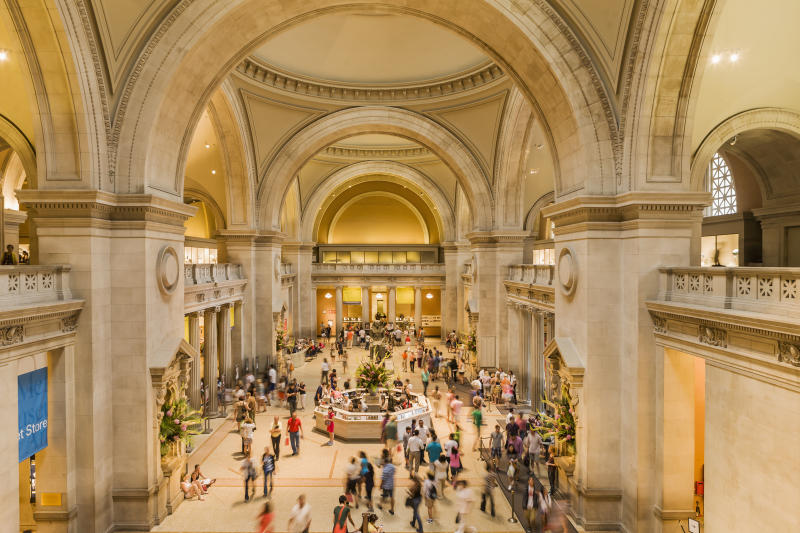 USA, New York, New York City . Manhattan, Upper East Side, Museum Mile, Metropolitan Museum of Art, the Great Hall