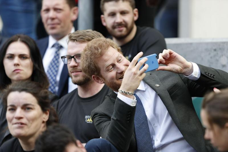 Prince Harry is said to have had a secret Facebook account when he was younger. Photo: Getty Images
