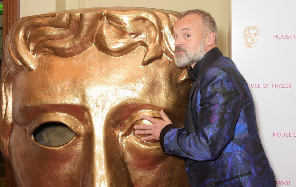 LONDON, ENGLAND - MAY 10:  Graham Norton attends the After Party dinner for the House of Fraser British Academy Television Awards at The Grosvenor House Hotel on May 10, 2015 in London, England.  (Photo by David M. Benett/Getty Images)