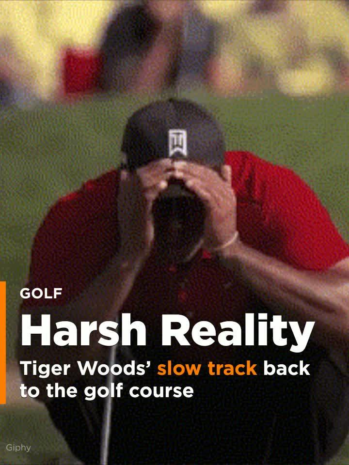 Tiger Woods' slow track back to the golf course.
