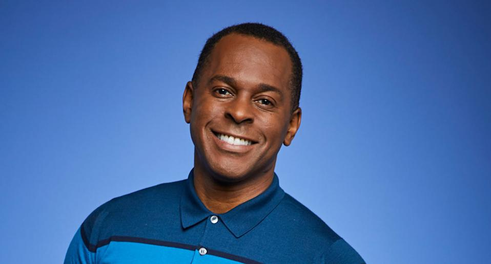 Andi Peters in a 2019 promotional still for Good Morning Britain. (ITV/Jonathan Ford)