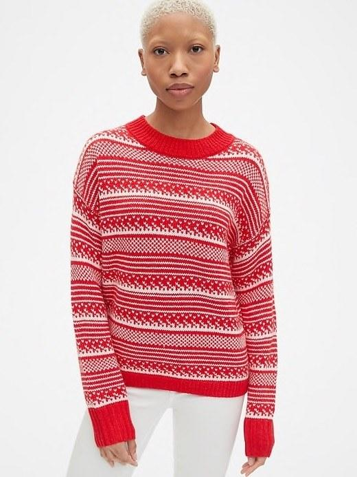 4c91077f0b46e 15 Best Ugly Christmas Sweaters for Holiday 2018. Teen Vogue • December 5,  2018. $42, Gap.