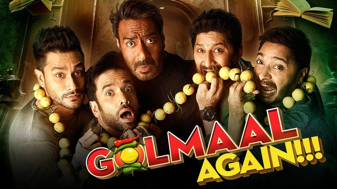 <p>Golmaal Again is the fourth instalment of the Golmaal film franchise and marks Ajay Devgn's tenth film collaboration with Rohit Shetty. The worldwide collection of the film was ₹300 crore in its fourth week. With a box office gross of over ₹3.11 billion, it was the fifth highest-grossing Bollywood film of 2017 and one of the highest-grossing Indian films of all time. </p>