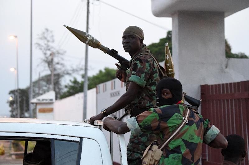 A soldiers' mutiny has raised security fears in Ivory Coast