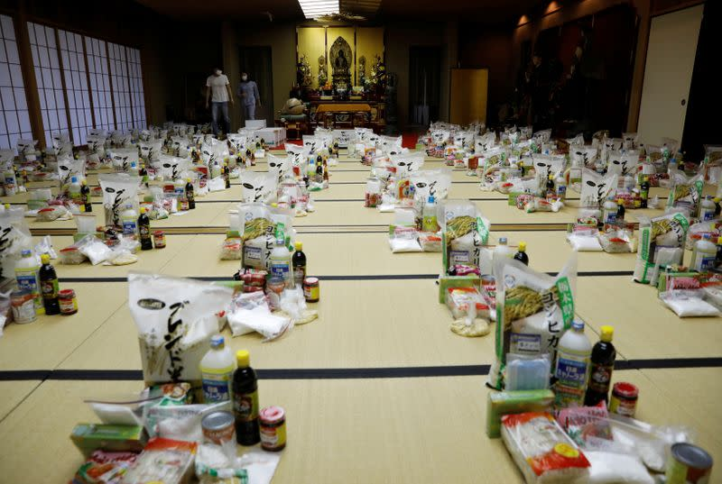 Buddhist temple which has turned into a shelter for young Vietnamese migrant workers in Tokyo