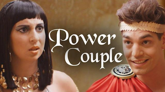 "You might think the concept of the ""power couple"" is a relatively new idea borne from Hollywood, but the truth is, it didn't start with Brangelina or Kimye."