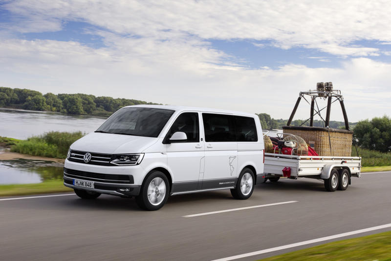 Volkswagen turns the Multivan into an adventure rig with the PanAmericana