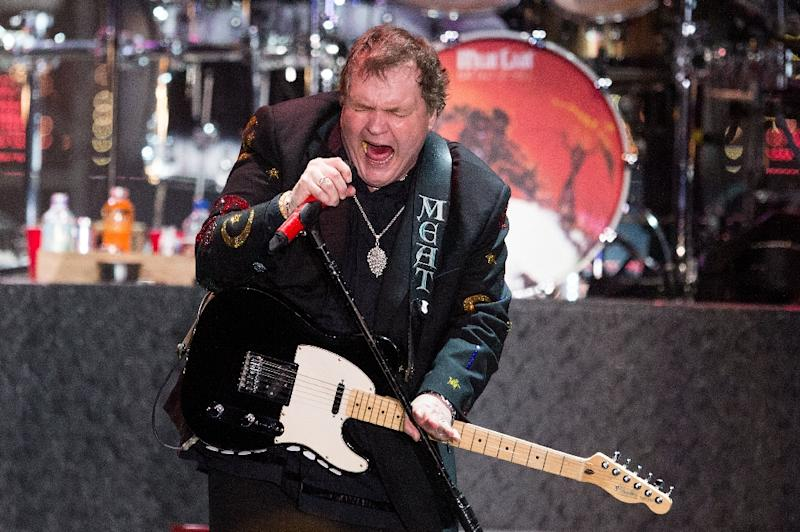 Meat Loaf performs on stage in Zwolle, Netherlands on May 11, 2013