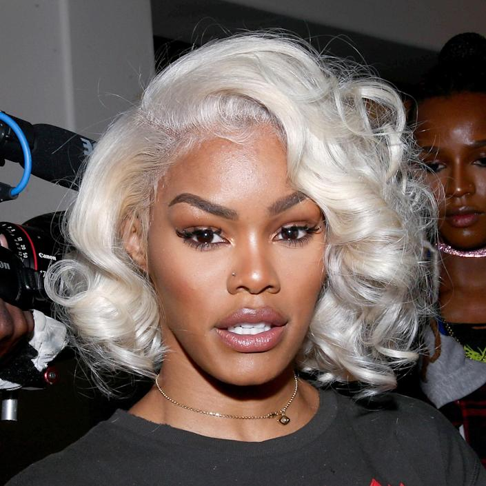 """Teyana Taylor can pull off nearly any color. The lowlights bring a little warmth to the white-hot highlights in this vintage-styled platinum coif. Best of all, the hue doesn't wash out her complexion. If you're drooling over this shade, we don't blame you. But it's not for the faint of heart. """"Unfortunately, not everyone can achieve this level of platinum,"""" says Schaudt. """"If there's a previous color or existing damage, you would need a wig to achieve this. But if your hair is naturally light and in good condition, ask for a consult to see if it's achievable for you."""""""