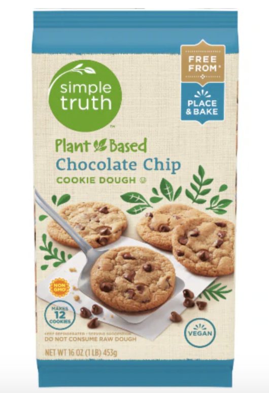 """<p>The simple truth here is that cookies are cookies and not vessels of nutrition.</p><p>Here, it seems, plant-based is being used as a synonym for vegan, which is good and dandy, if not a little sneaky. Each one of Simple Truth's chocolate chip cookies has 130 calories and 5 grams of added sugar—not terrible for a cookie, but if it's cookies you're after, why not go for one that actually satisfies? </p><p>Might I recommend <a href=""""https://thrivemarket.com/p/tates-bake-shop-chocolate-chip-cookies"""" rel=""""nofollow noopener"""" target=""""_blank"""" data-ylk=""""slk:Tate's"""" class=""""link rapid-noclick-resp"""">Tate's</a>?</p>"""