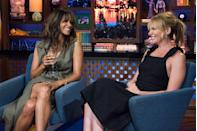 """<p>Even Halle gets soda cravings. But she said in a February <a href=""""https://www.instagram.com/halleberry/tv/BuMn08cAFWC/"""" rel=""""nofollow noopener"""" target=""""_blank"""" data-ylk=""""slk:#PHITTalk"""" class=""""link rapid-noclick-resp"""">#PHITTalk</a> that she works hard to avoid the sugary stuff. </p>"""