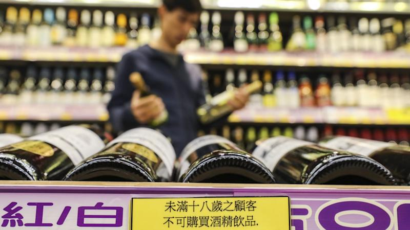 Hong Kong could put health warnings on alcoholic drinks, health minister says after new rules on sales to minors