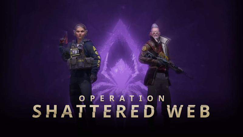 CS:GO Operation Shattered Web update introduces new characters and weapon skins