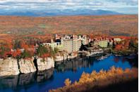 """<p>#CityLife is not your only option in New York. At <a href=""""http://www.mohonk.com/"""" rel=""""nofollow noopener"""" target=""""_blank"""" data-ylk=""""slk:Mohonk Mountain"""" class=""""link rapid-noclick-resp""""><u>Mohonk Mountain</u></a>, you can choose from a variety of """"<a href=""""http://www.mohonk.com/specials/spa-cations"""" rel=""""nofollow noopener"""" target=""""_blank"""" data-ylk=""""slk:Spa-Cations"""" class=""""link rapid-noclick-resp""""><u>Spa-Cations</u></a>"""" perfectly suited for a group of best friends — or just spend your days hiking, meditating and downward dog-ing in the serene mountain scenery. The spa can set you up with everything from meditation and stress reduction classes to a custom-tailored full-body massage. Come afternoon, enjoy a brisk walk to the on-site garden (you may even catch a wedding or two), play a round of tennis, or sign up for a guided hike or rock climbing excursion. The rooms in the main castle lodging are TV-free, so look forward to plenty of group quality time.</p><p><strong><em>For more information visit </em></strong><a href=""""http://www.mohonk.com/"""" rel=""""nofollow noopener"""" target=""""_blank"""" data-ylk=""""slk:Mohonk.com"""" class=""""link rapid-noclick-resp""""><strong><em>Mohonk.com</em></strong></a><strong><em>.</em></strong></p>"""