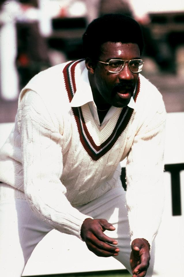 Jun 1979:  West Indies Captain Clive Lloyd in action during a World Cup match at Lord's in London. \ Mandatory Credit: Adrian  Murrell/Allsport