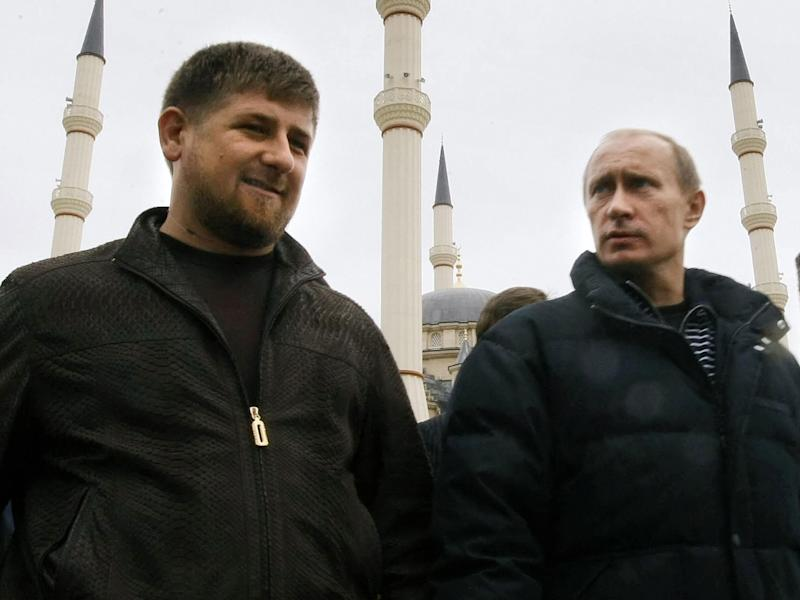 Chechen President Ramzan Kadyrov's spokesman calls report 'absolute lies and disinformation' and said gays don't exist in the Muslim-majority region: ALEXEY NIKOLSKY/AFP/Getty Images