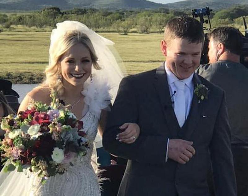 Newlyweds killed in helicopter crash hours after wedding in US